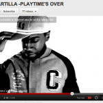 Raw Artilla  – Playtimes over video – Wearing Crooks & Castles, Money Clothing & Duffer.