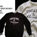 Cocaine &amp; Caviar Sweats &#8211; RE-STOCK!!! S &#8211; 3XL