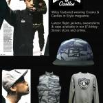 Crooks &amp; Castles Holiday 2012 Collection as worn by Wiley