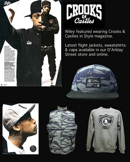Crooks &amp; Castles Holiday 2012 Collection