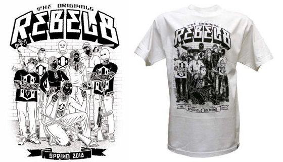 Rebel8 8Team T-shirt