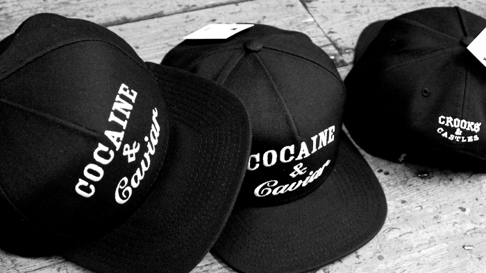 Crooks & Castles Cocaine & Caviar snapback