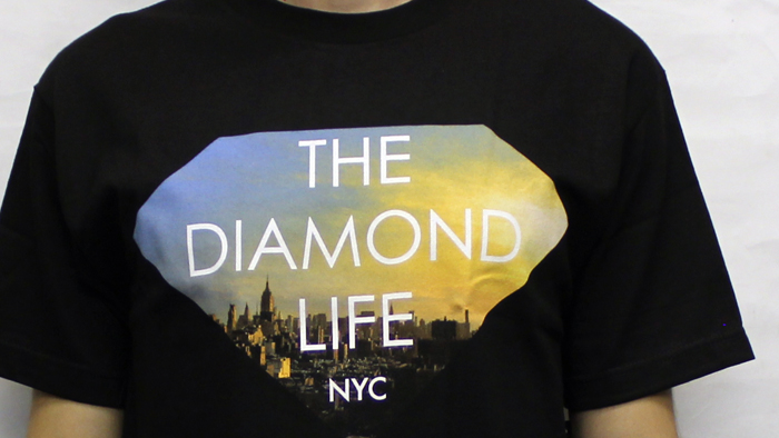 Diamond Life NYC T-Shirt Black