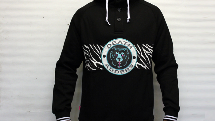Mishka Death adders rumble fleece