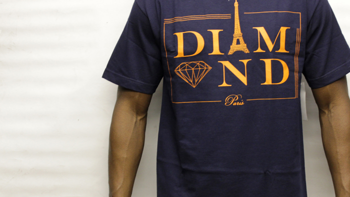 Paris T-shirt Navy