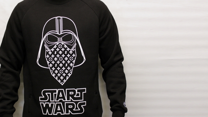 Jilted Royalty Start Wars 2013 Crewneck Black