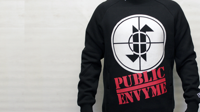 Jilted Royalty Public Envy Crewneck Black