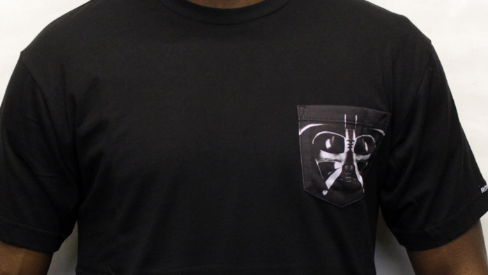 Jilted Royalty Start Wars 2013 Pocket T-shirt Black