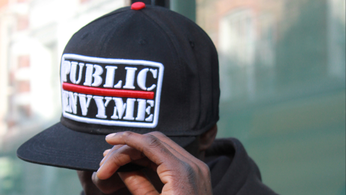 Jilted Royalty Public Envy Snapback Cap Black