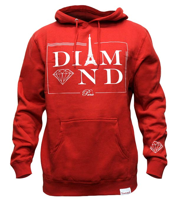 DIAMOND-PARIS-HOODIE-IN-RED