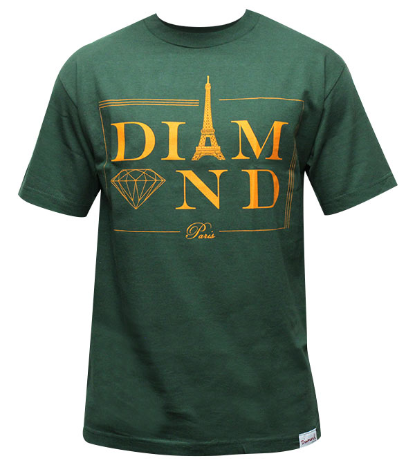 DIAMOND-PARIS-TEE-IN-GREEN