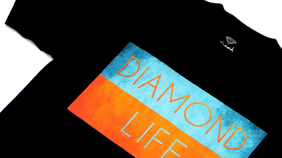 DIAMOND LIFE FLAG T-SHIRT1S
