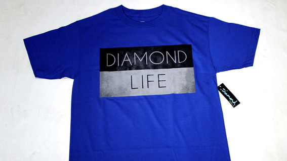 DIAMOND LIFE FLAG T-SHIRTS