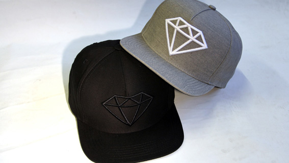 ROCK LOGO SNAPBACK HATS