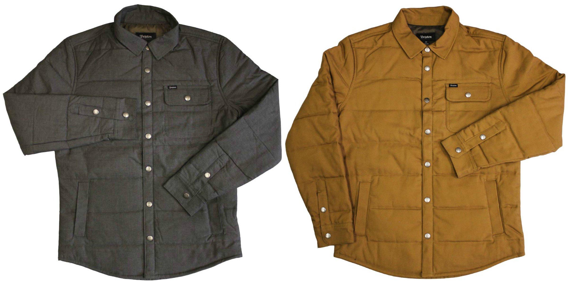 Brixton Ltd Cass Jacket, (Dark grey) £99.99 (Copper) £94.99
