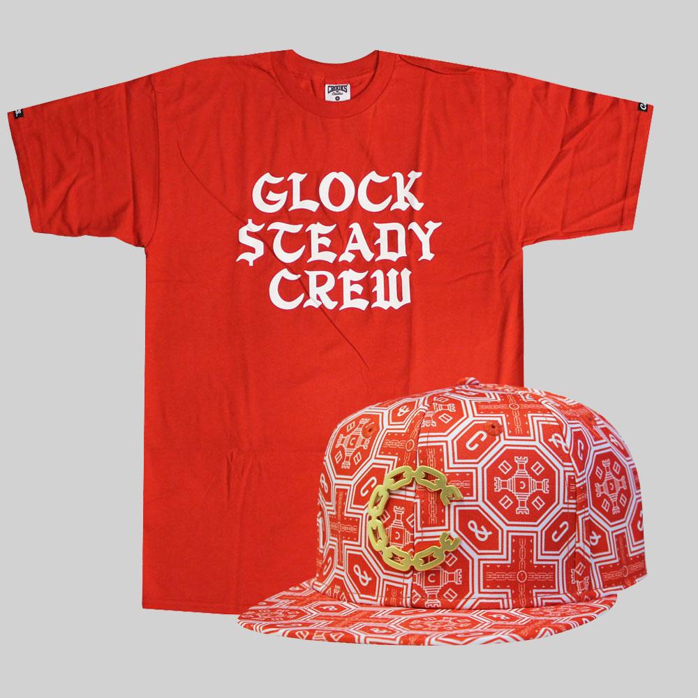 Crooks & Castles Glock Steady T-Shirt £29.99 X Crooks and Castles Thuxury Chain C Venetian Strapback £39.99