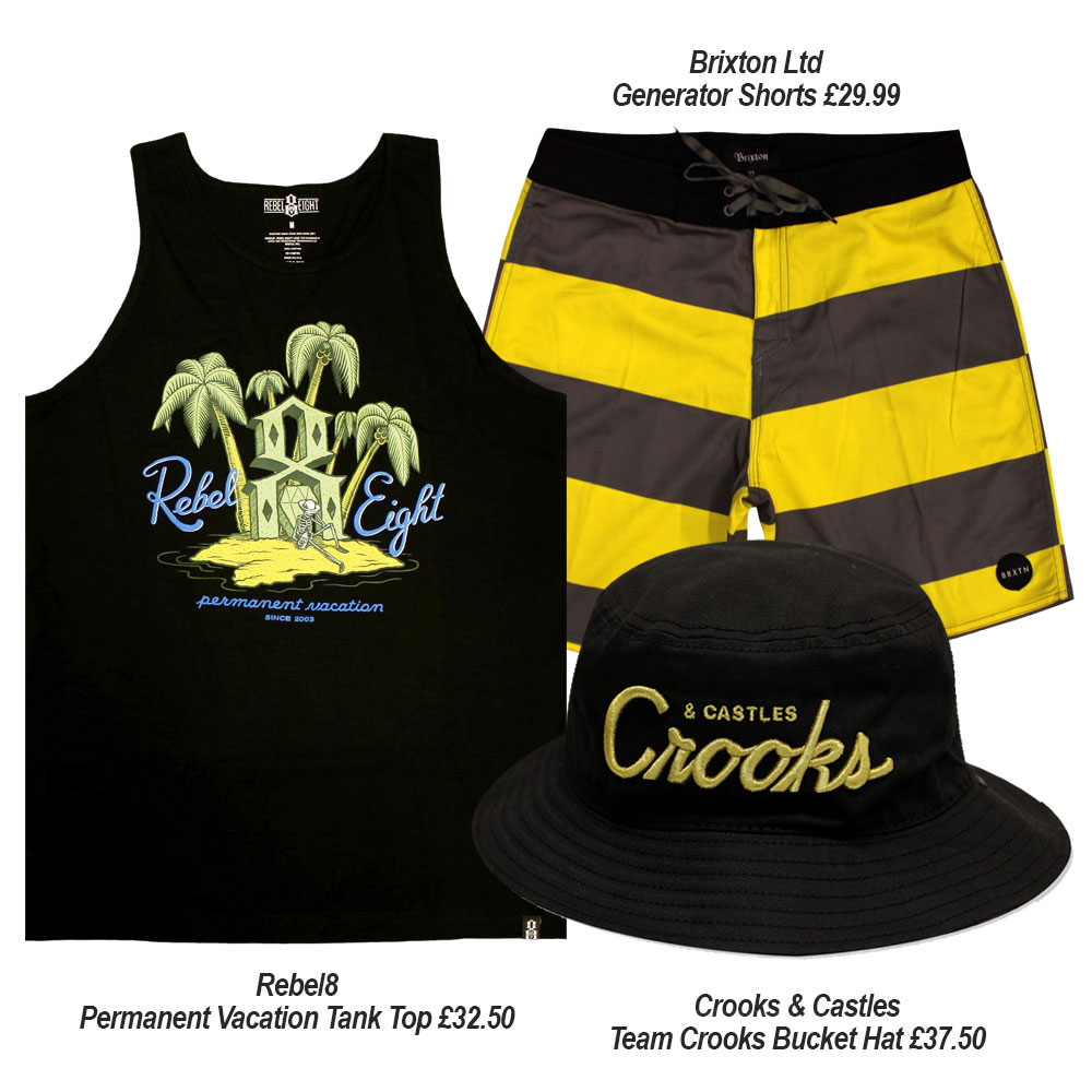 Streetwear Summer Outfits with Dickies Crooks and Castles and Rebel8