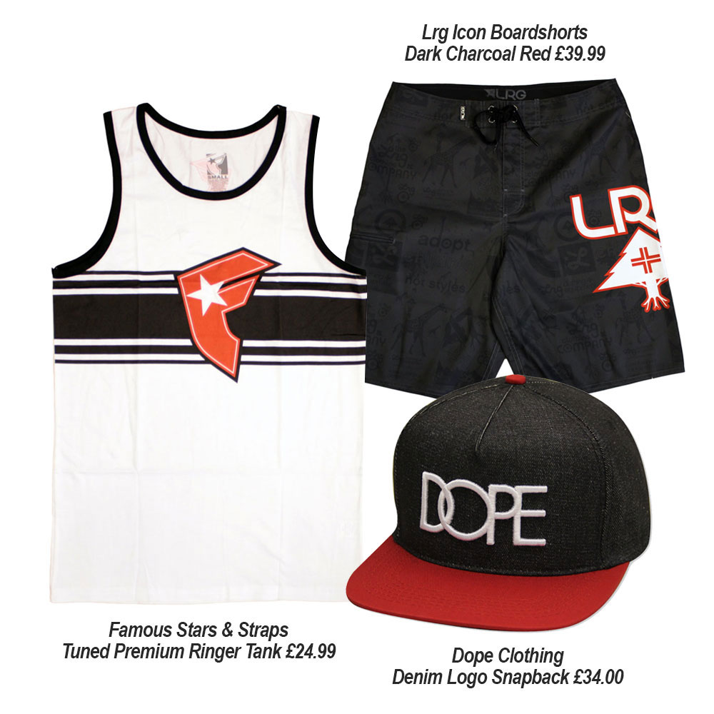 Streetwear Summer Outfits with Famous SAS, Dope and Lrg Clothing