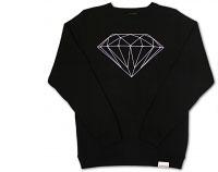 diamond supply co brilliant sweatshirt in black