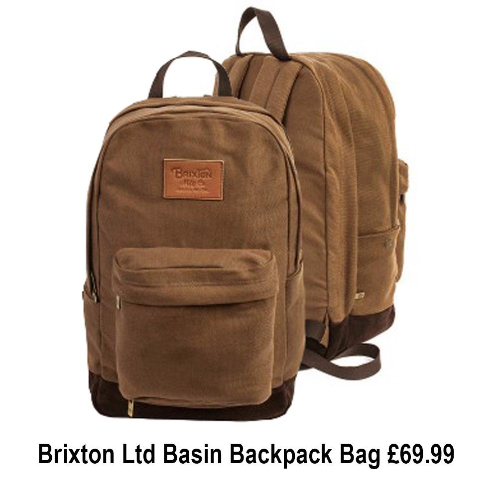 Brixton Ltd Basin Backpack Bag