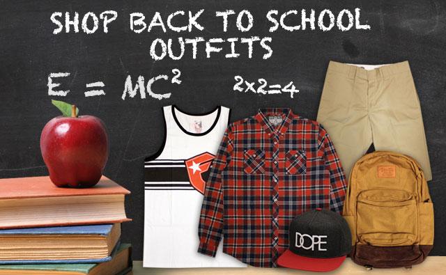 Back to School Streetwear Clothing