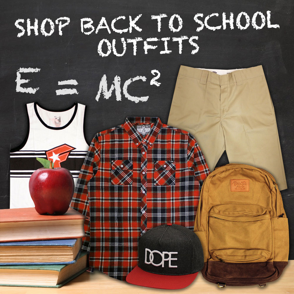Back To School Streetwear Clothing