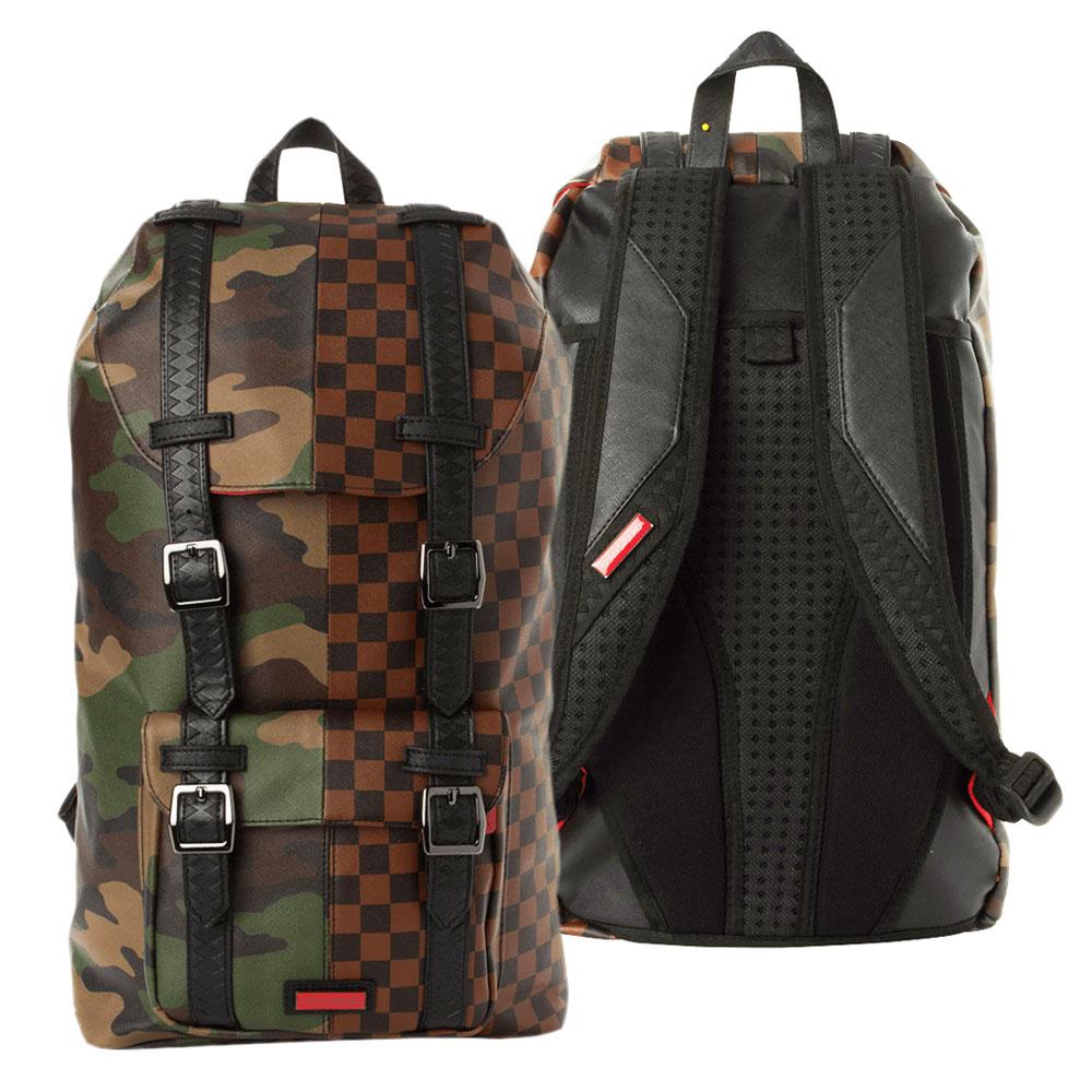 Sprayground Jungle Paris Hills Backpack