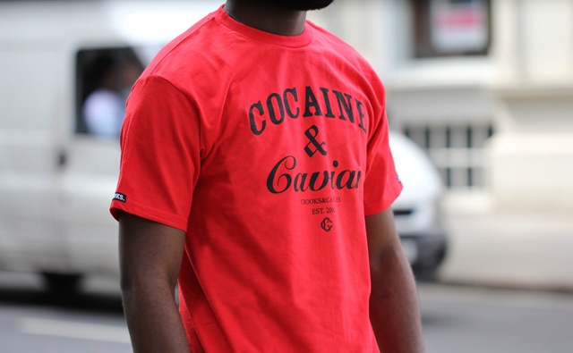 Crooks and Castles Cocaine & caviar t-shirt