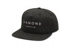 Diamond Supply Co Diamond Snapback Speckle Black