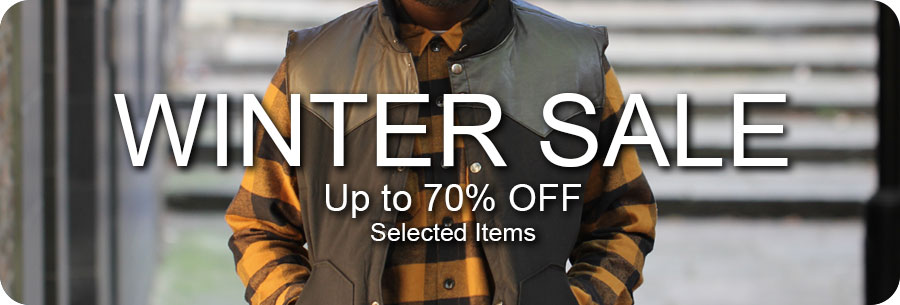 Winter clearance sale up to 70% off selected items