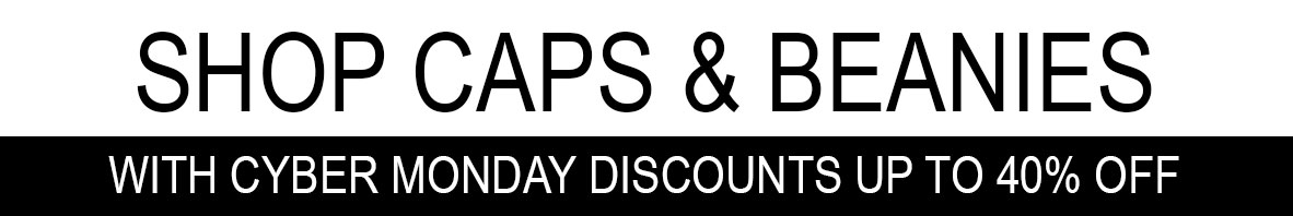 Shop Black Friday deals on snapbacks and beanies