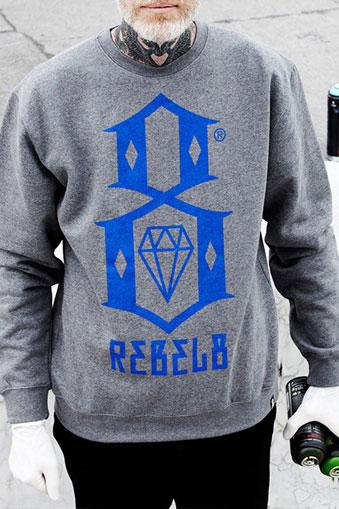 Rebel8 Logo Sweatshirt