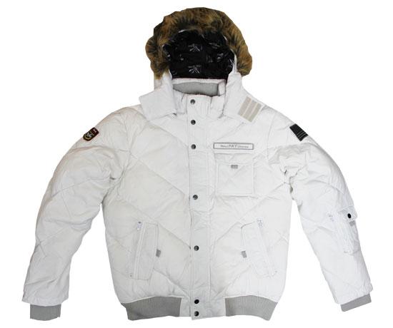 Triple Fat Goose V Bubble Jacket White