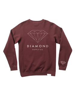 Diamond Supply Co Brilliant Diamond Sweatshirt