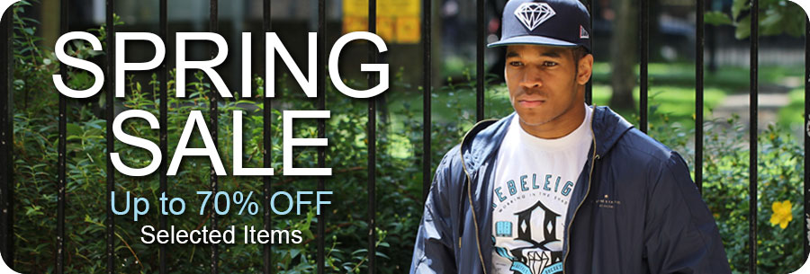 Spring clearance sale up to 70% off selected items