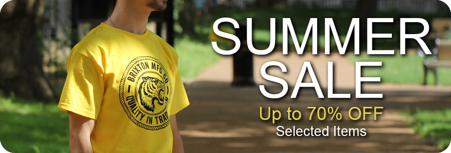 Summer clearance sale on top streetwear brands