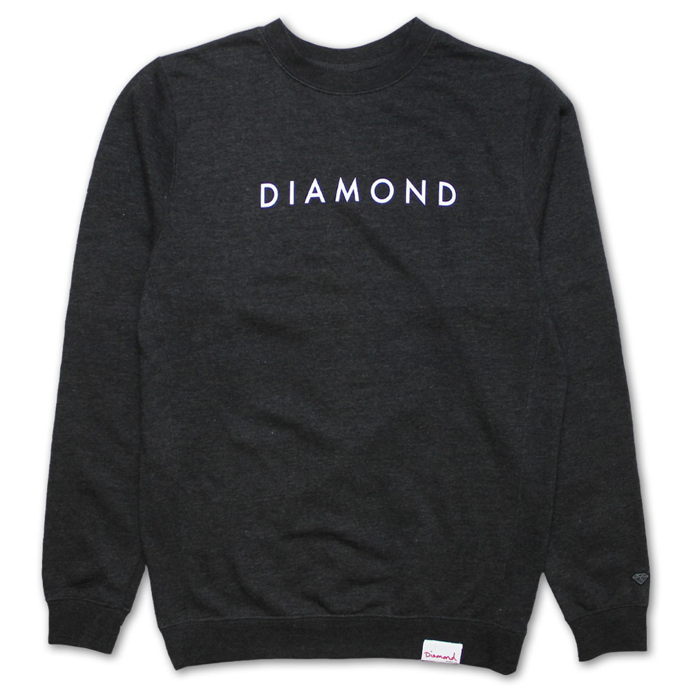 Diamond Supply Co Futura Sweatshirt Charcoal