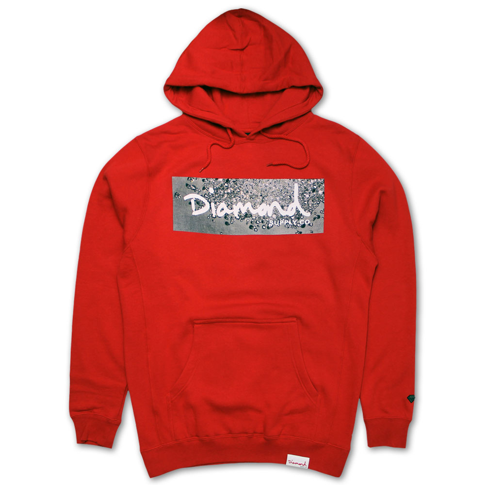 Diamond Supply Co Scattered Box logo Hoodie
