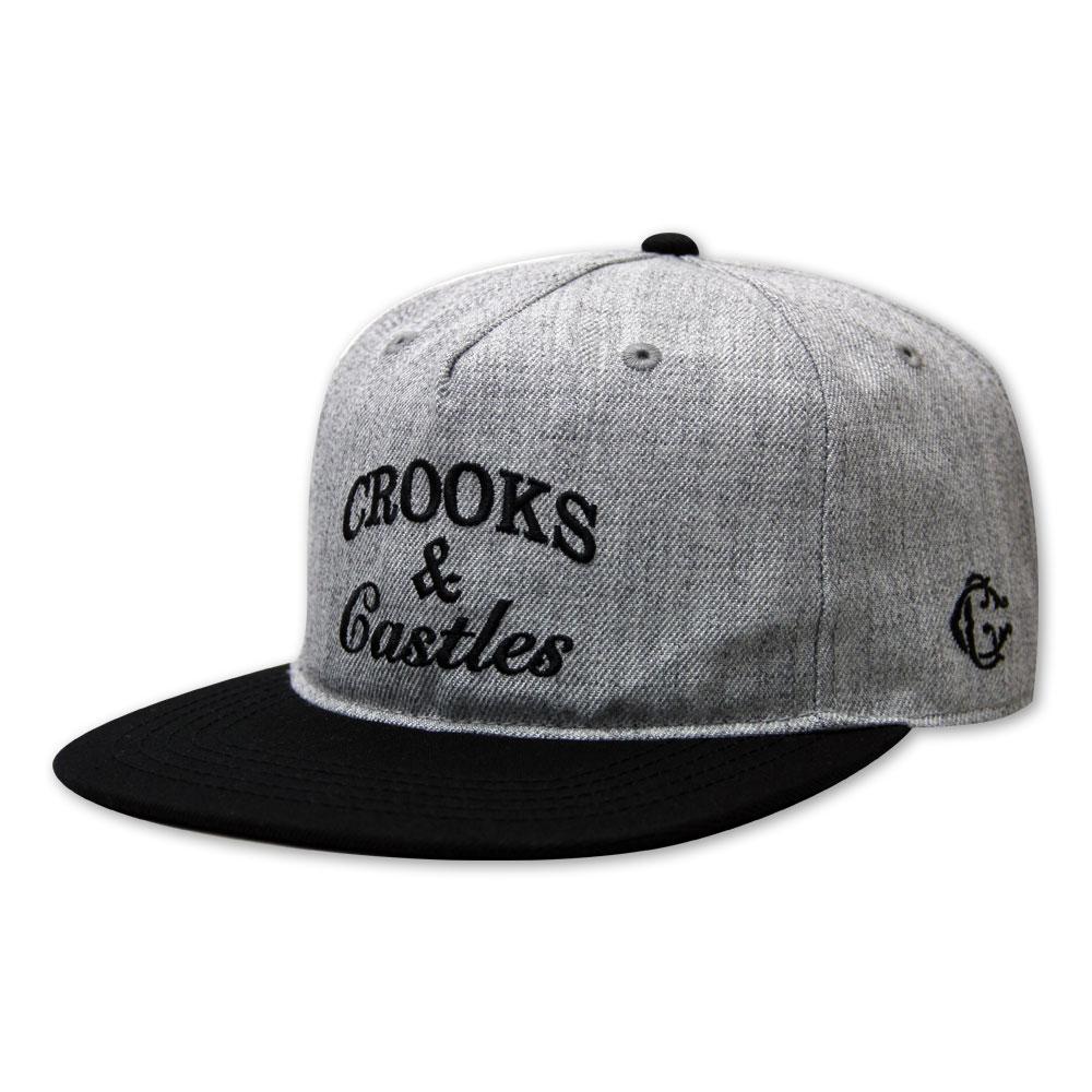 Crooks & Castles Timeless Snapback Grey