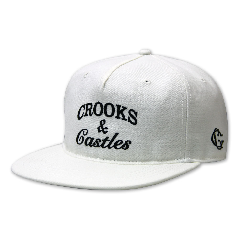 Crooks & Castles Timeless Snapback White