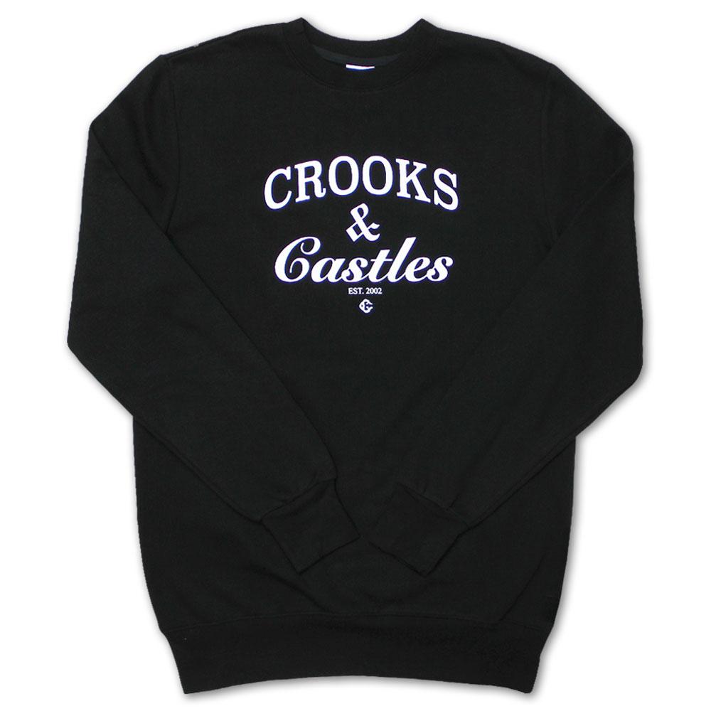 Crooks & Castles Timeless Sweatshirt Black