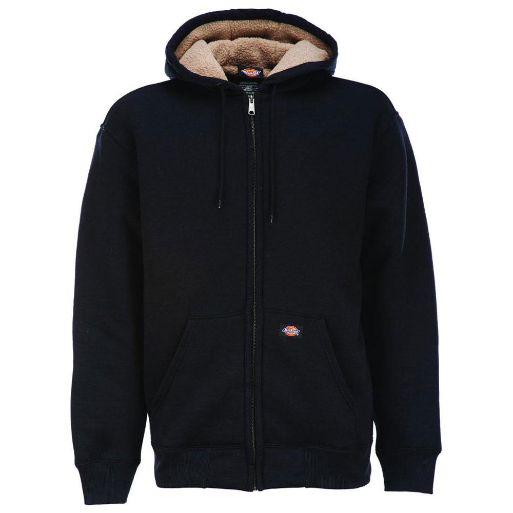 Dickies Sherpa Lined Fleece Hoodie Black