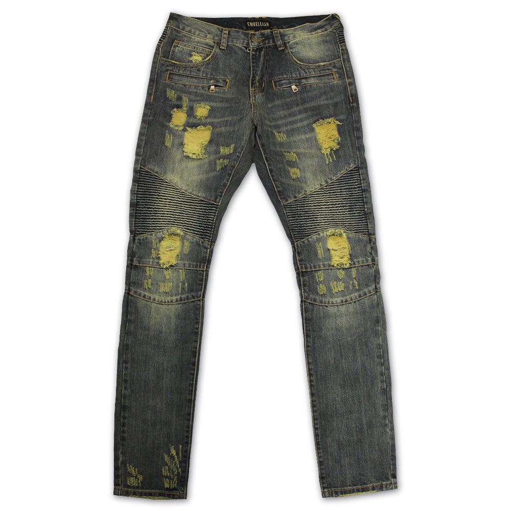 Lincoln Biker Jeans - Streetwear