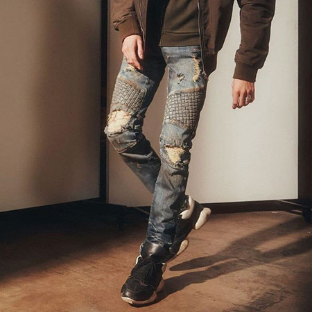0d69fb87 Mens Skinny Fit Streetwear Biker Jeans | Everythinghiphop.com