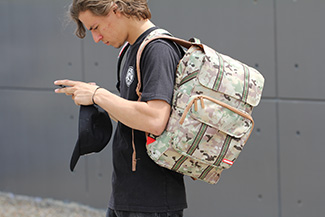 Sprayground Multicam Couture Backpack