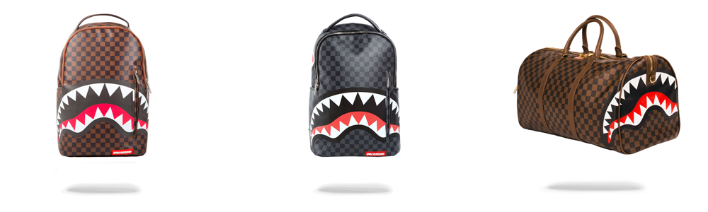 Sprayground Sharks In Paris Collection