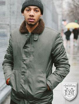 Brixton mens winter jackets warm and stylish