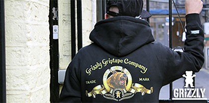 Grizzly Griptape hoodies, t-shirts and more Free UK shipping