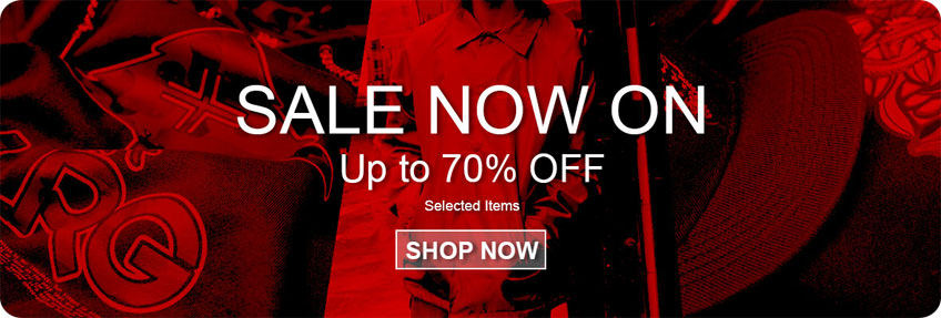 Get up to 70% off Diamond Supply Co, Crooks n Castles, Lrg, Rebel8 and more