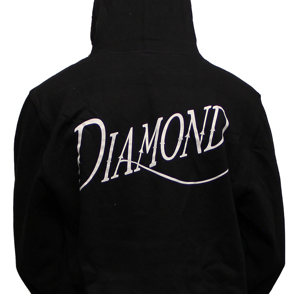 Diamond Supply Co Old Script Hoodie Black
